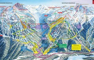 Whistler Blackcomb Review Ski Map Image