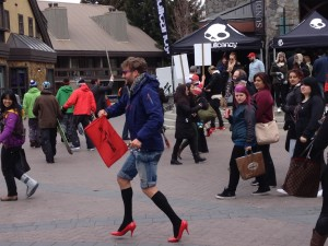 Walk A Mile In Her Shoes Whistler