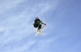 Big Air at the World Ski and Snowboard Festival