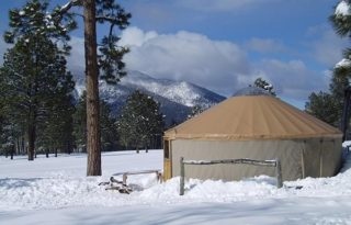 Yurt at Arizona Nordic Village