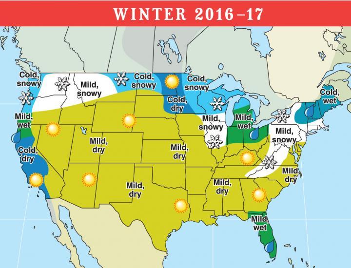 old farmers almanac 2017 winter map