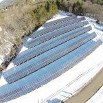 The solar array at Mt Abram. Credit: mtabram.com