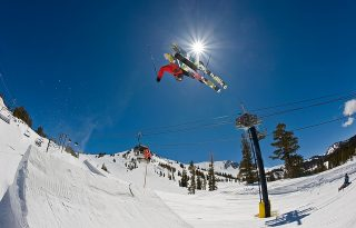 Mammoth Mountain Terrain Park