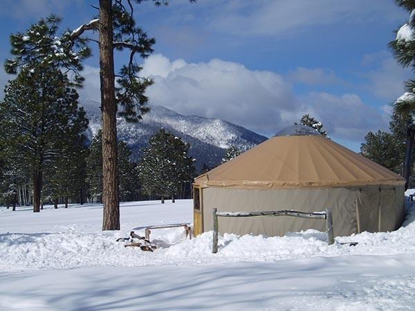 Yurt at Arizona Nordic Village