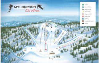 mount dufour trail map